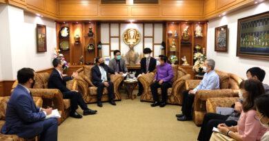อุปทูตรักษาการแทนเอกอัครราชทูตสหรัฐอเมริกาประจำประเทศไทย เข้าเยี่ยมคารวะผู้ว่าฯเชียงใหม่
